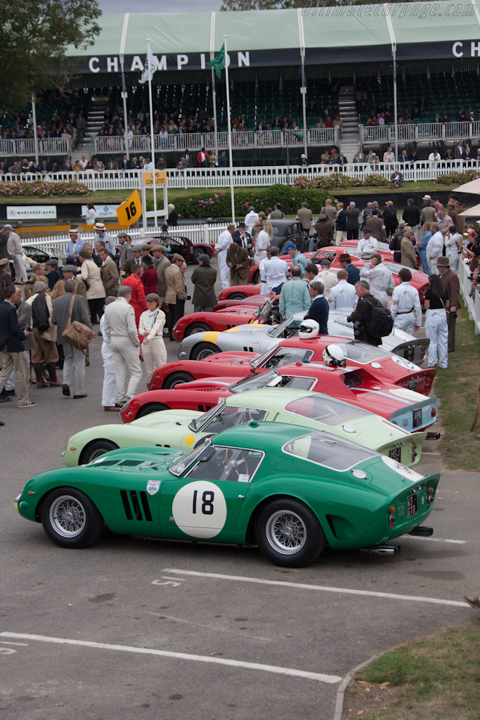 Ferrari 250 GTOs - Chassis: 3767GT   - 2012 Goodwood Revival