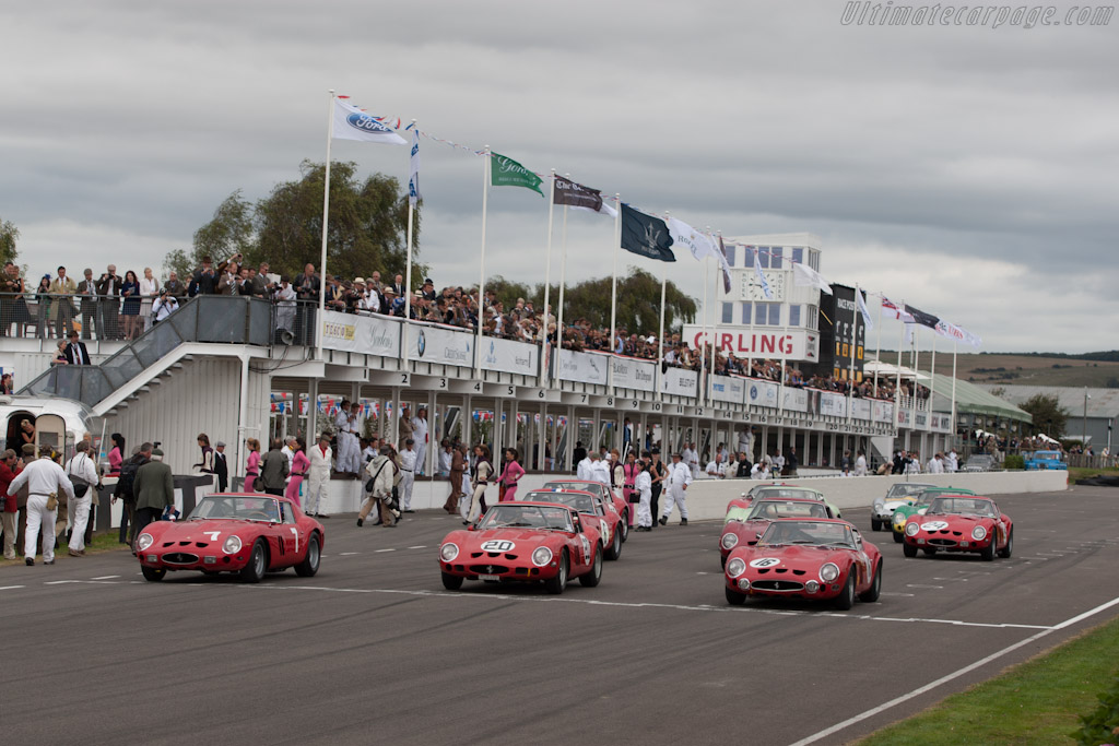 Ferrari 250 GTOs - Chassis: 3729GT   - 2012 Goodwood Revival