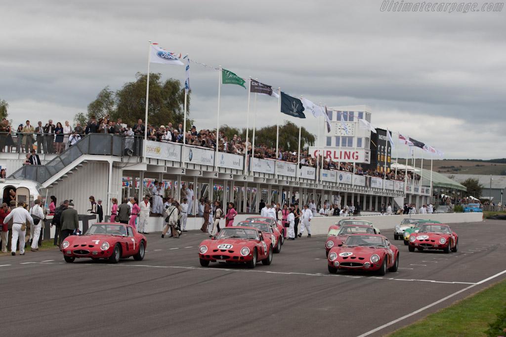 Ferrari 250 GTOs - Chassis: 3729GT   - 2012 Goodwood Revival