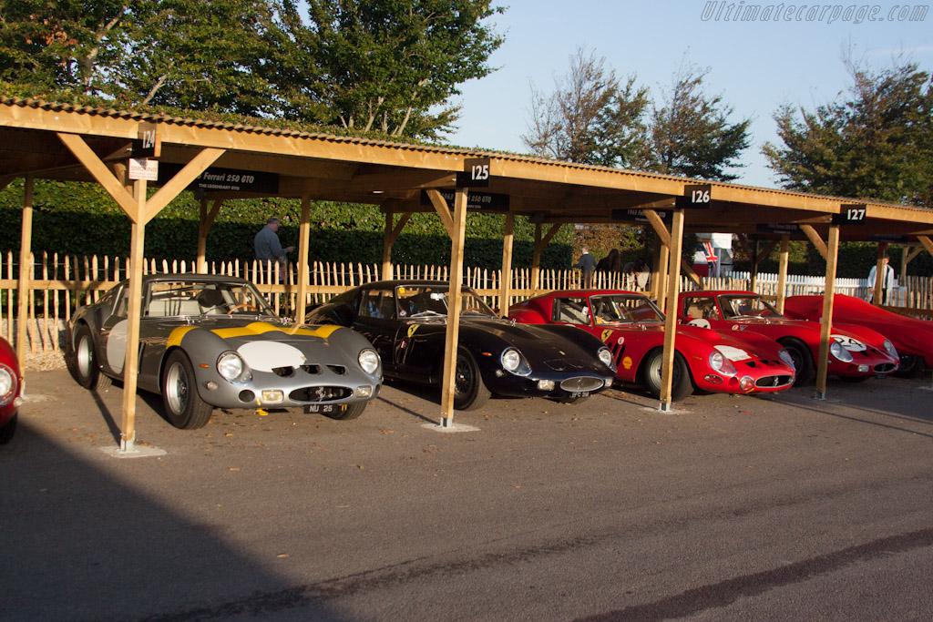 Ferrari 250 GTOs - Chassis: 4153GT   - 2012 Goodwood Revival