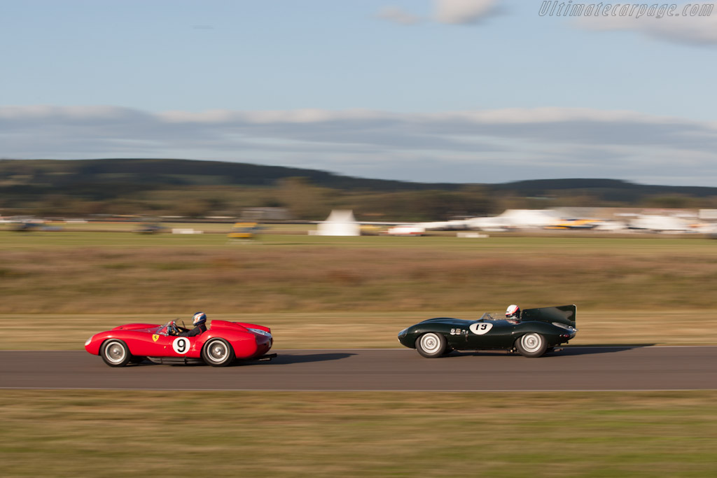 Ferrari 250 TR & Jaguar D-Type    - 2012 Goodwood Revival