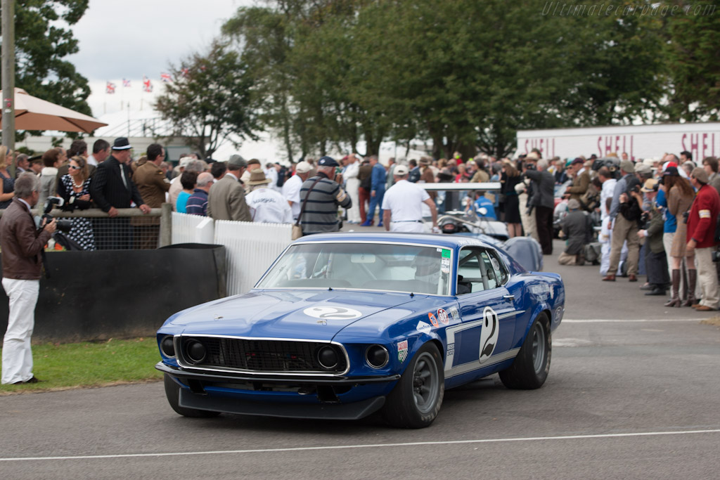 Ford Mustang Boss 302    - 2012 Goodwood Revival