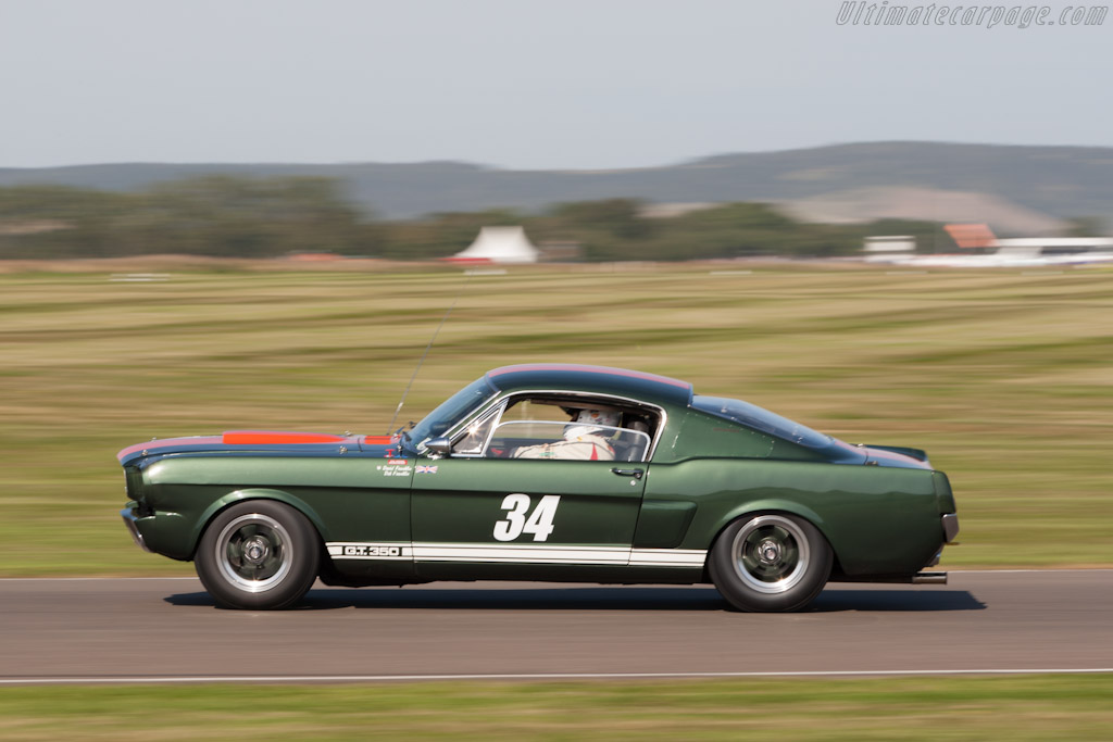 Ford Shelby Mustang Gt350 2012 Goodwood Revival