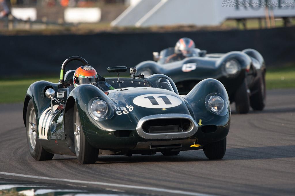 Lister Knobbly Jaguar    - 2012 Goodwood Revival