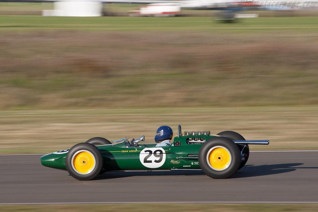 Race Car Trophy >> Lotus 25 Climax - 2012 Goodwood Revival