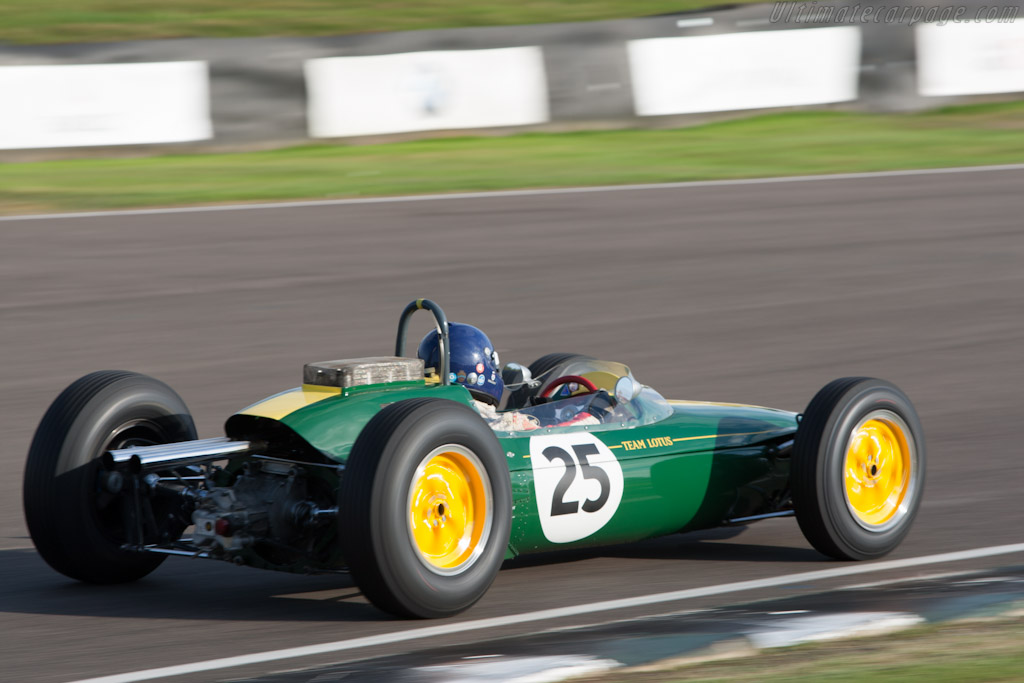 Lotus 25 Climax - Chassis: R3   - 2012 Goodwood Revival
