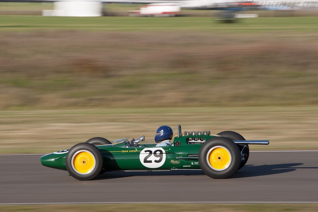 Lotus 25 Climax    - 2012 Goodwood Revival