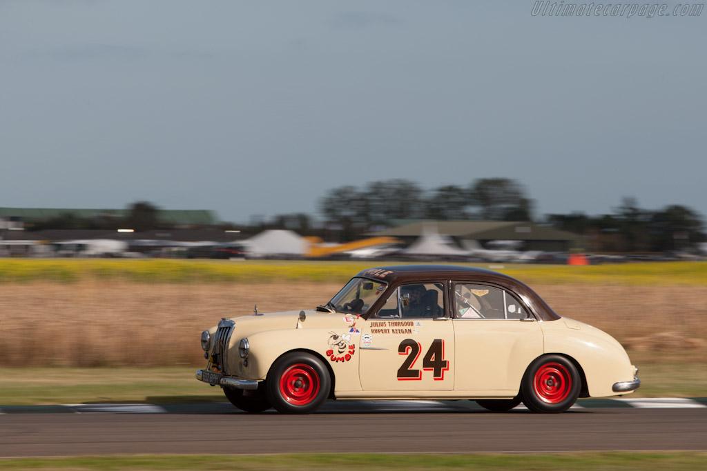 Race Car Trophy >> MG Magnette - 2012 Goodwood Revival