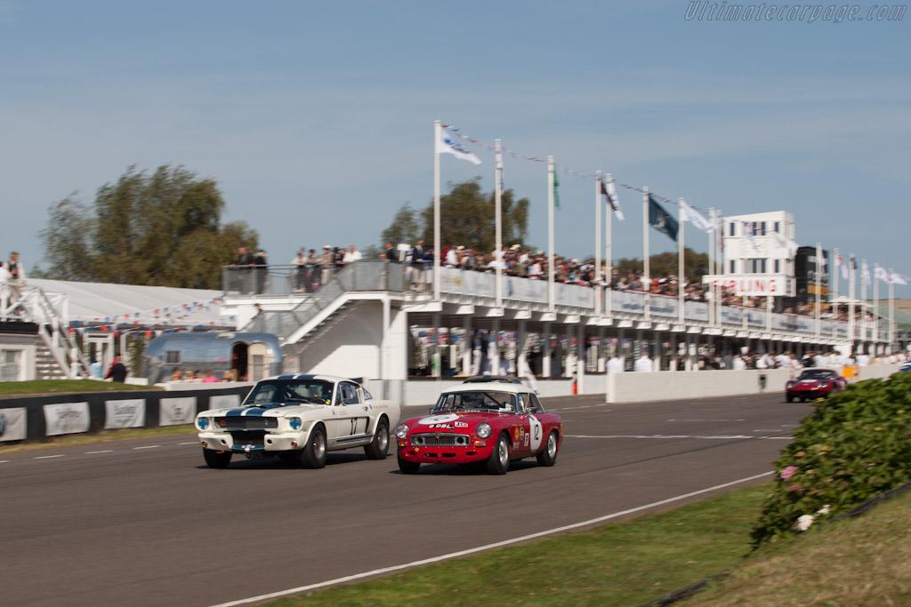Race Car Trophy >> MGB - 2012 Goodwood Revival