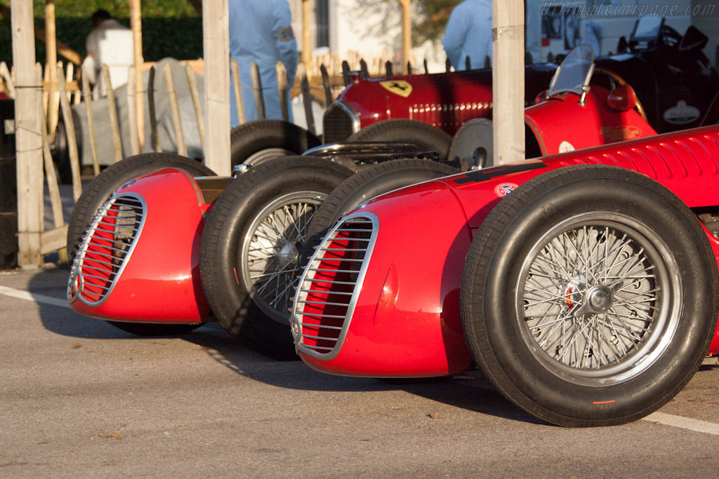 Maserati 4CLTs - Chassis: 1600   - 2012 Goodwood Revival