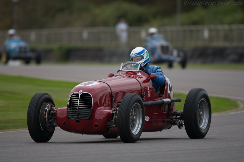 Maserati 6CM - Chassis: 1532   - 2012 Goodwood Revival