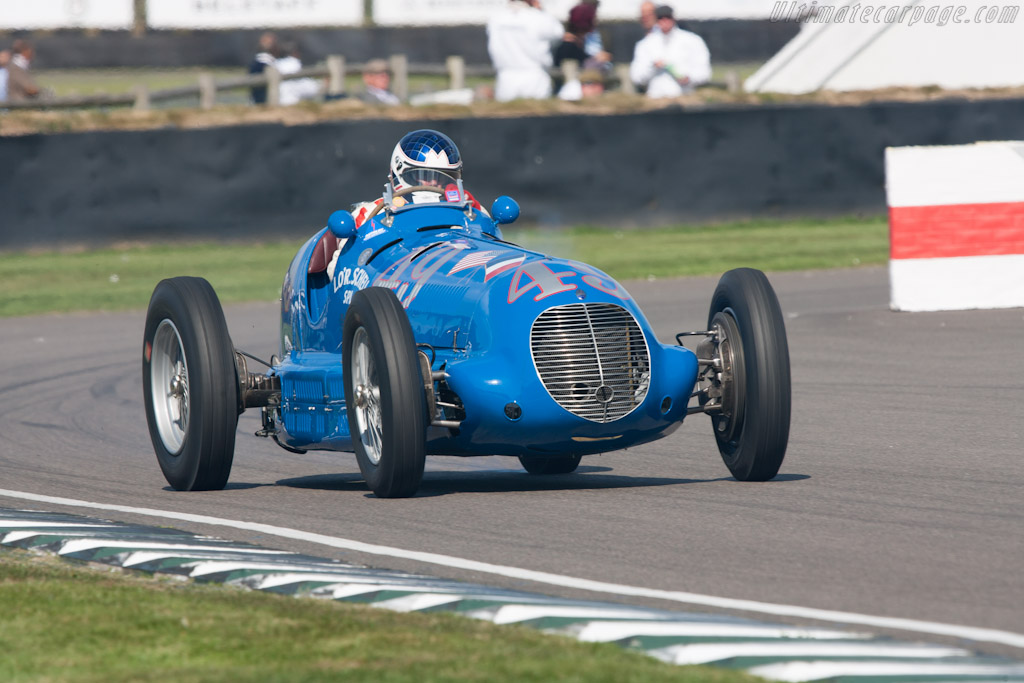 Maserati 8CTF - Chassis: 3030 - Entrant: The Revs Institute for Automotive Research  - 2012 Goodwood Revival