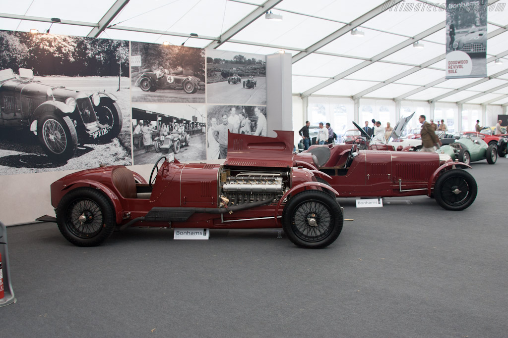 Maserati V4 - Chassis: V4/4001 AH   - 2012 Goodwood Revival