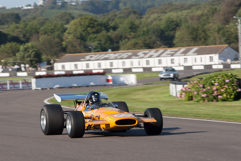 McLaren M14A Cosworth - Chassis: M14A/3   - 2012 Goodwood Revival