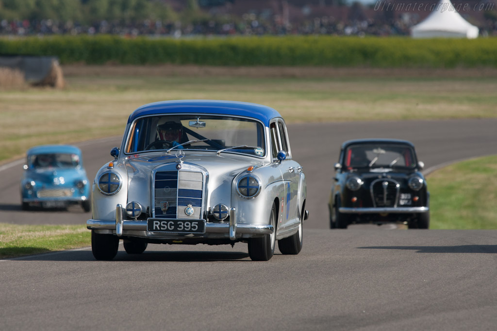 Race Car Trophy >> Mercedes-Benz 220S - 2012 Goodwood Revival