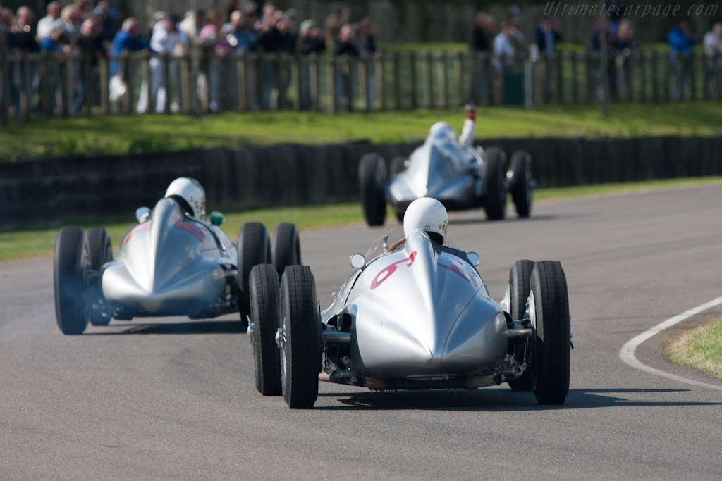 Mercedes-Benz W154 - Chassis: 189445/15   - 2012 Goodwood Revival