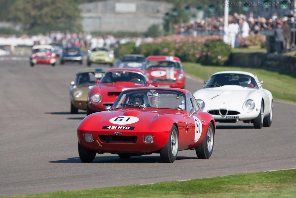 Morgan +4 SLR - Chassis: SLR2   - 2012 Goodwood Revival