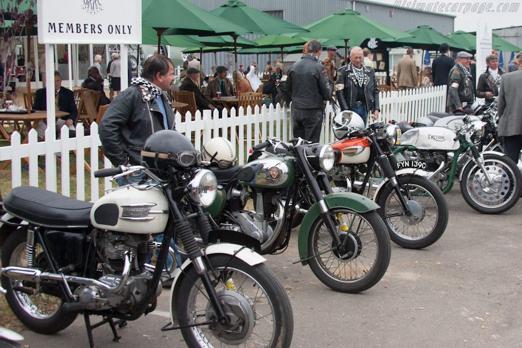 Motorcycles    - 2012 Goodwood Revival