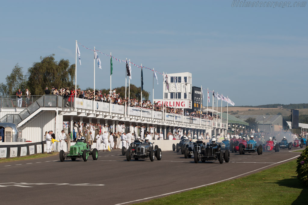 Off they go    - 2012 Goodwood Revival