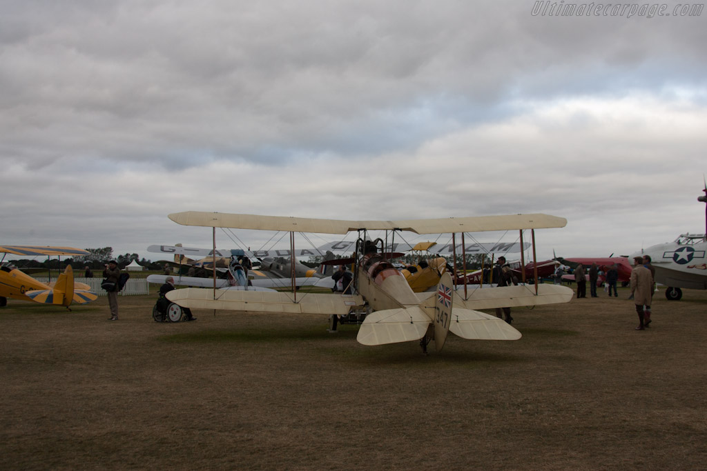 Royal Aircraft Factory BE2C    - 2012 Goodwood Revival