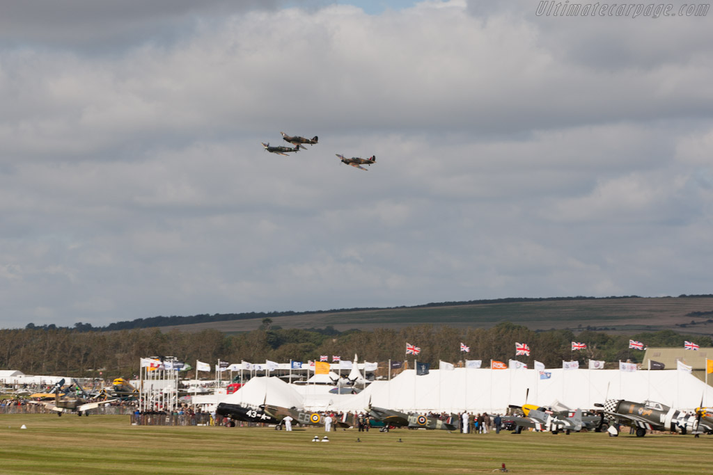Spitfire and Huricanes    - 2012 Goodwood Revival