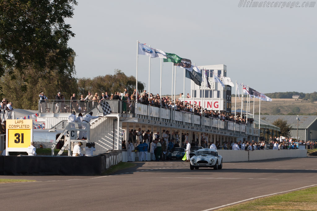 The finish    - 2012 Goodwood Revival