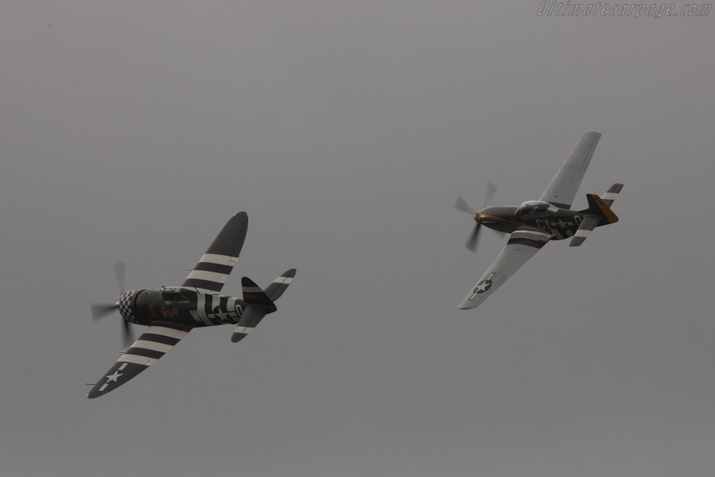 Thunderbolt and Mustang    - 2012 Goodwood Revival