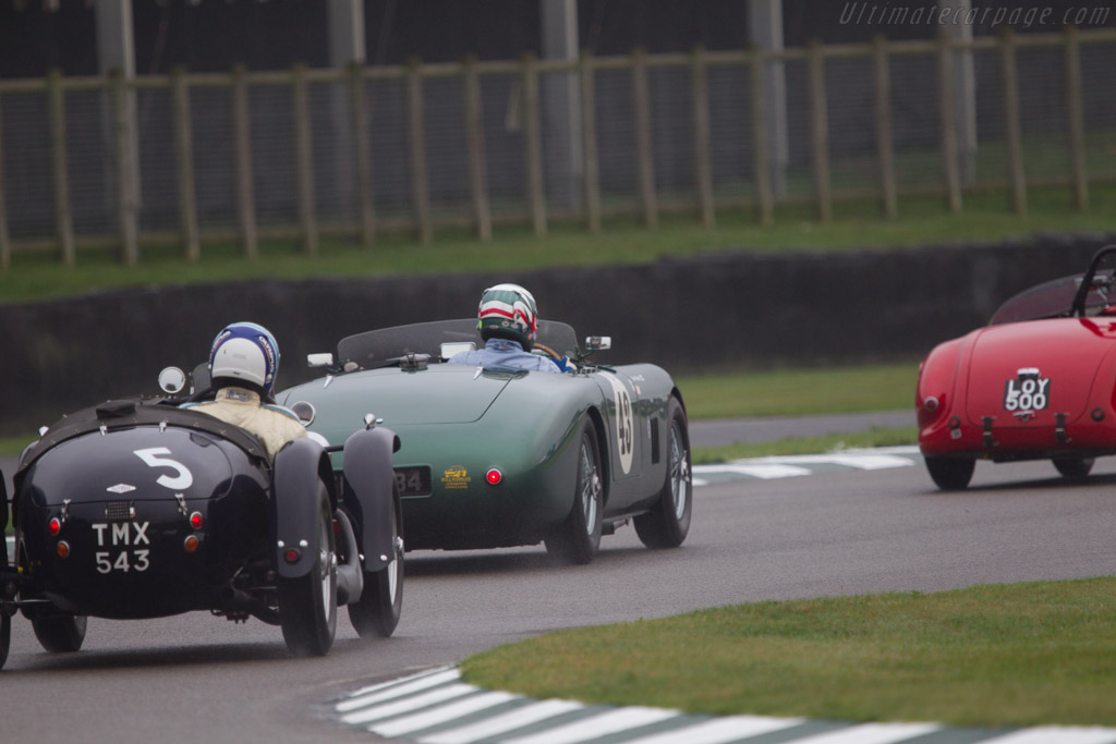 Aston Martin DB3 - Chassis: DB3/6 - Entrant: Mark Midgley - Driver: Mark Midgley / Chris Woodgate  - 2013 Goodwood Revival