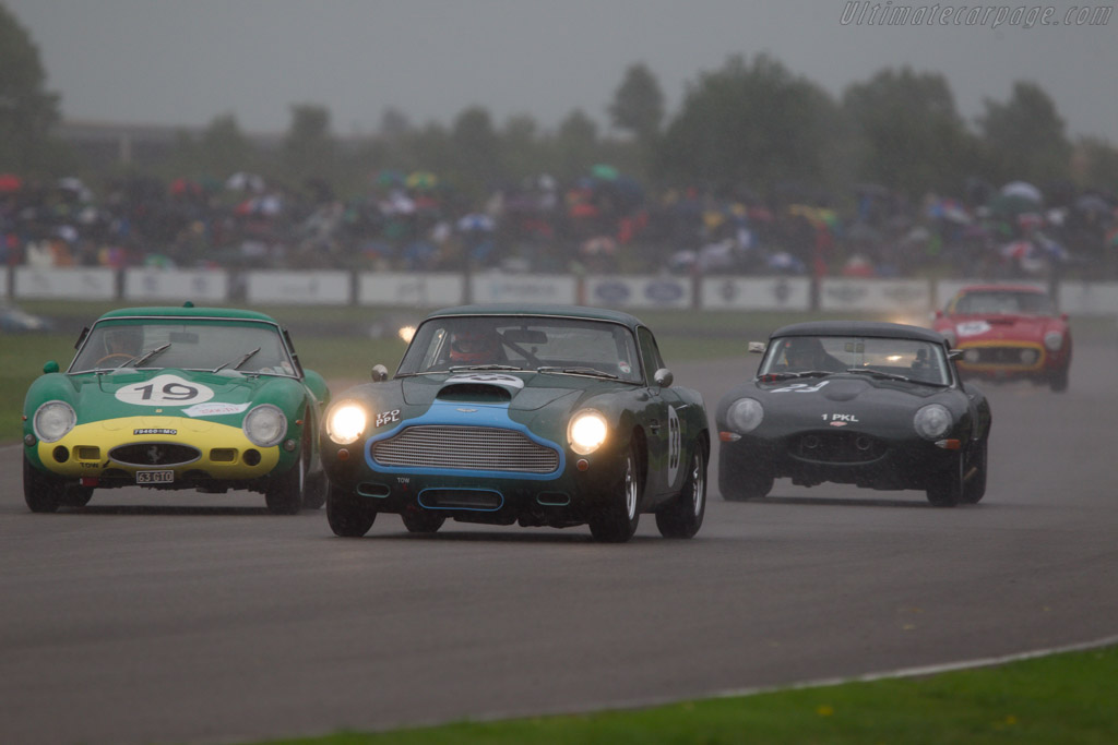 Aston Martin DB4 GT - Chassis: DB4GT/0110/R - Entrant: Ian Dalglish - Driver: Tiff Needell  - 2013 Goodwood Revival