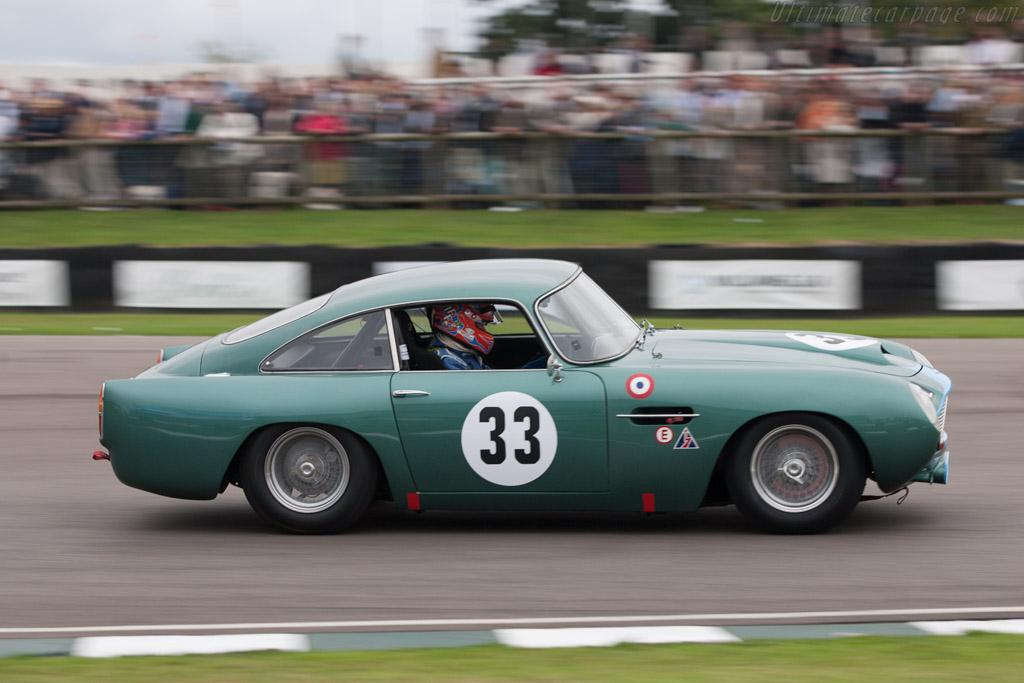 Aston Martin DB4 GT - Chassis: DB4GT/0110/R - Entrant: Ian Dalglish - Driver: Tiff Needell  - 2013 Goodwood Revival