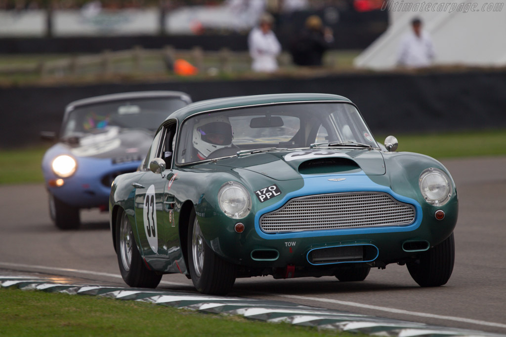 Aston Martin DB4 GT - Chassis: DB4GT/0110/R - Driver: Ian Dalglish  - 2013 Goodwood Revival