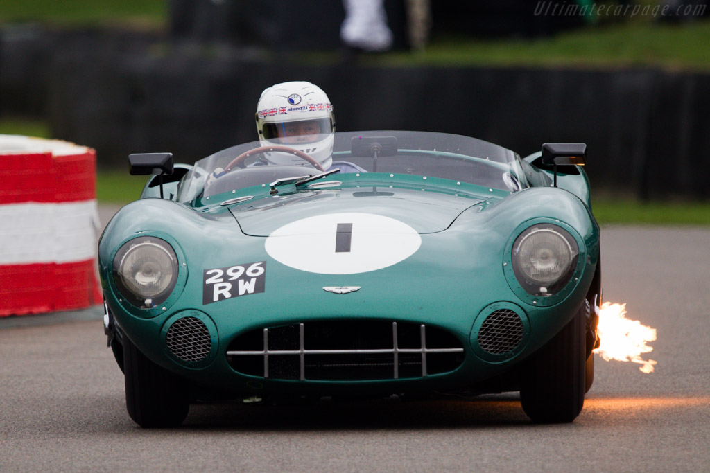 Aston Martin DBR1 - Chassis: DBR1/1 - Entrant: RS Williams ltd - Driver: Brian Redman  - 2013 Goodwood Revival