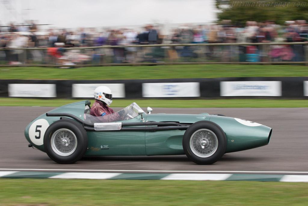 Aston Martin DBR4 - Chassis: 'DBR4/2' - Driver: David Wenman  - 2013 Goodwood Revival