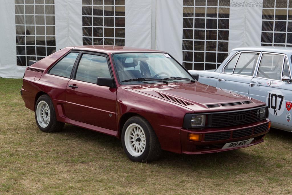 Audi Sport Quattro - Chassis: 85ZEA905089   - 2013 Goodwood Revival