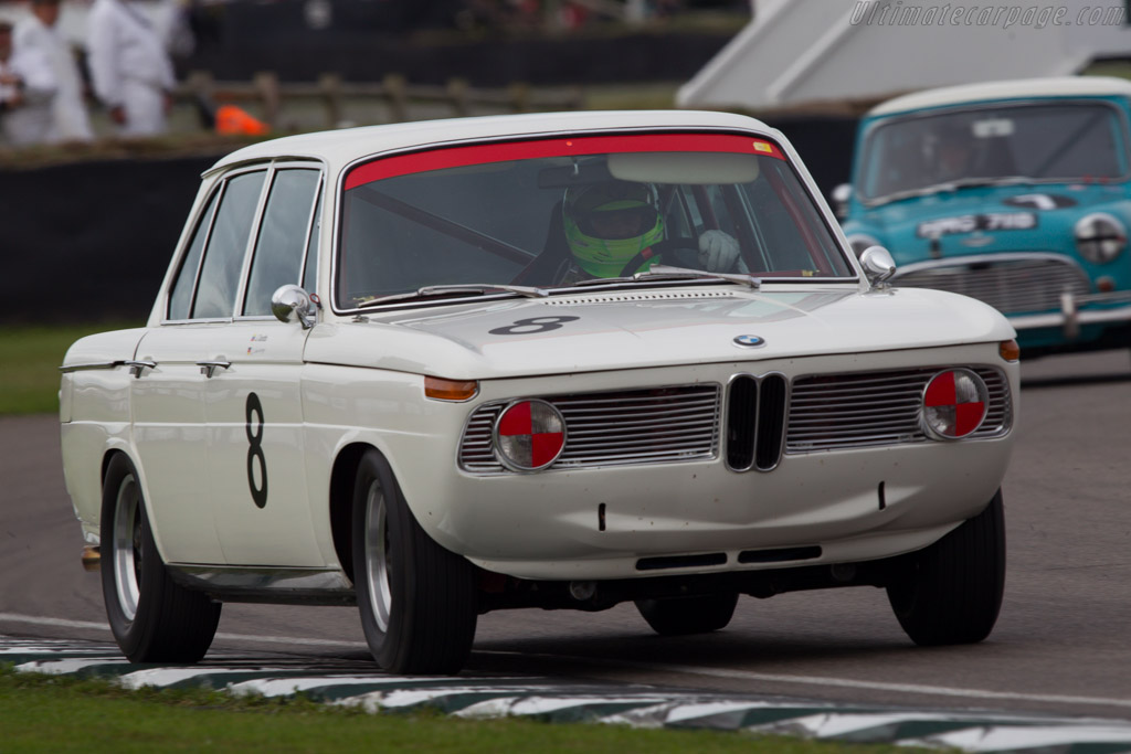 BMW 1800 TISA - Chassis: 995108 - Entrant: BMW Group - Driver: Jorg Weidinger  - 2013 Goodwood Revival