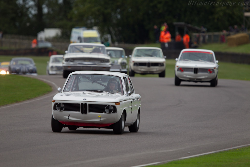 BMW 1800 TISA - Chassis: 995193 - Entrant: Richard Shaw - Driver: Jackie Oliver  - 2013 Goodwood Revival