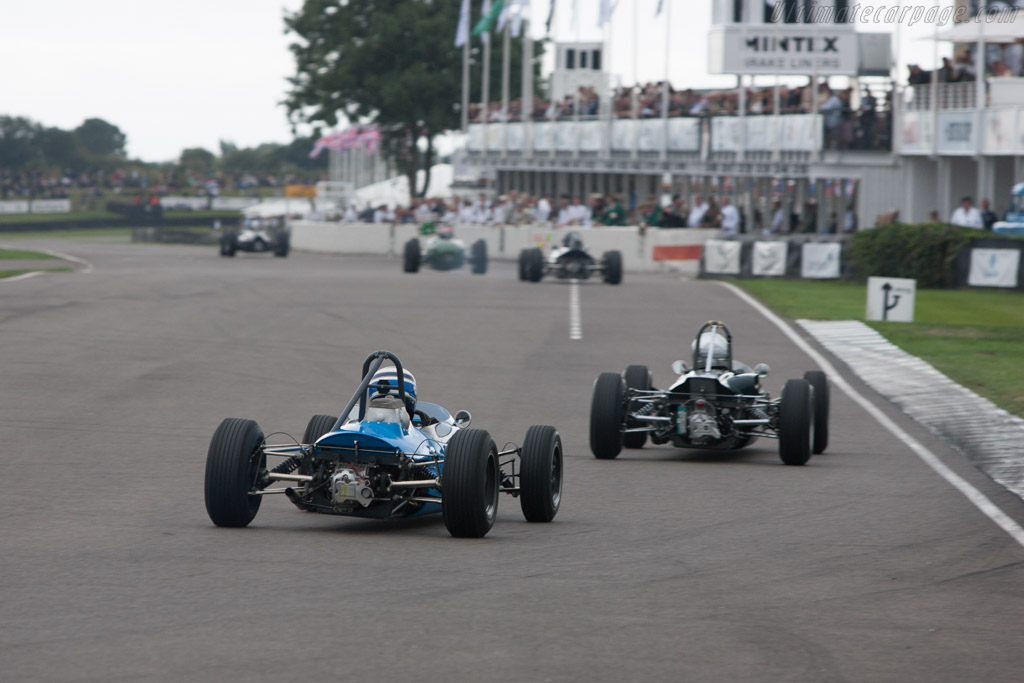 Brabham BT10 Ford - Chassis: F2-9-64 - Driver: Malcolm Cook  - 2013 Goodwood Revival