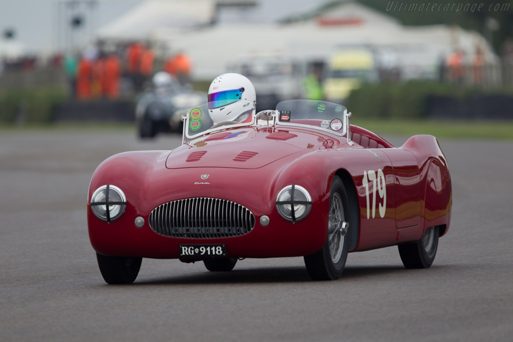 Cisitalia 202 SMM - Chassis: 021 SMM - Driver: Ian Dalglish  - 2013 Goodwood Revival