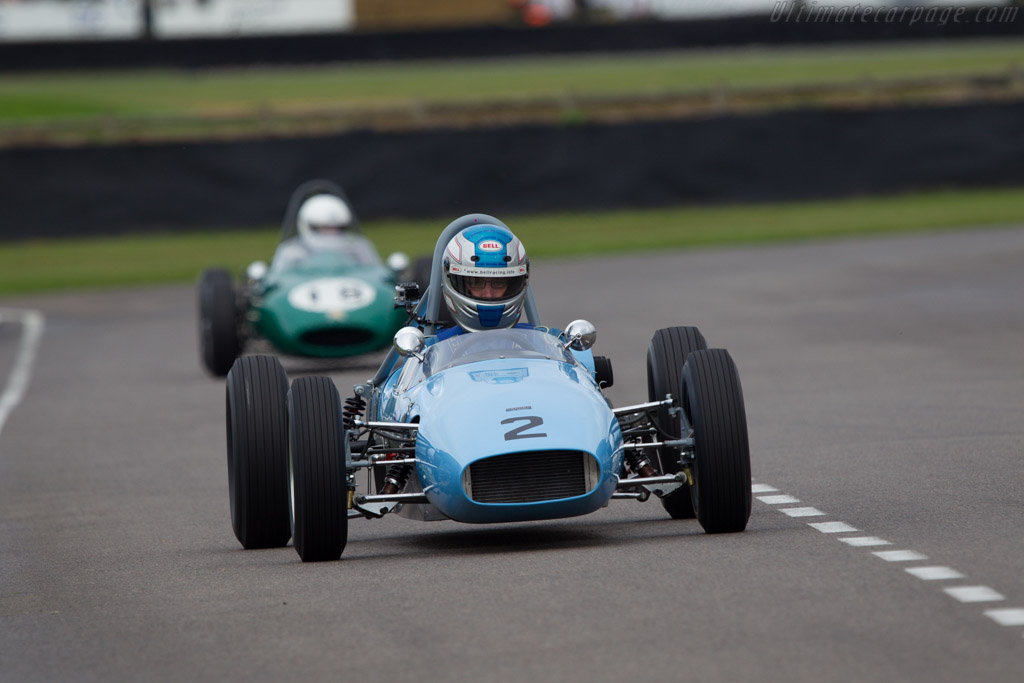Condor SIII Ford  - Entrant: Keith Roach - Driver: Stuart Roach  - 2013 Goodwood Revival