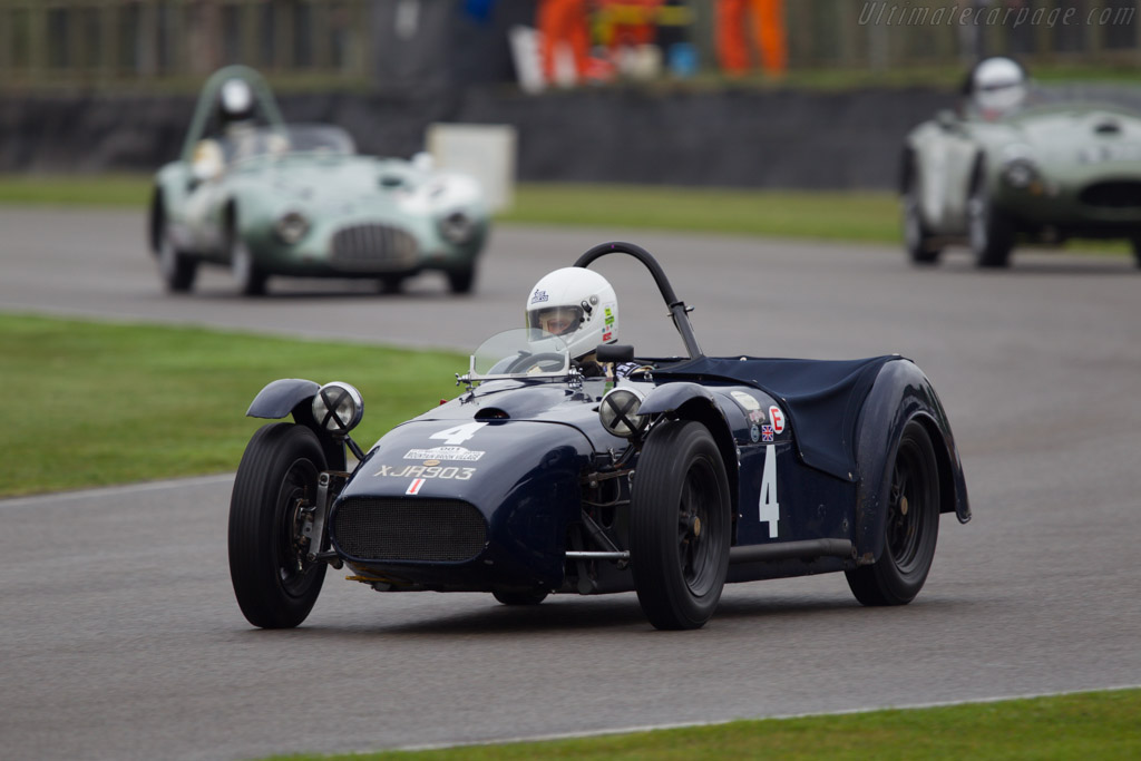 Cooper Ford  - Entrant: Anatoly Arutunoff - Driver: William Bellinger  - 2013 Goodwood Revival