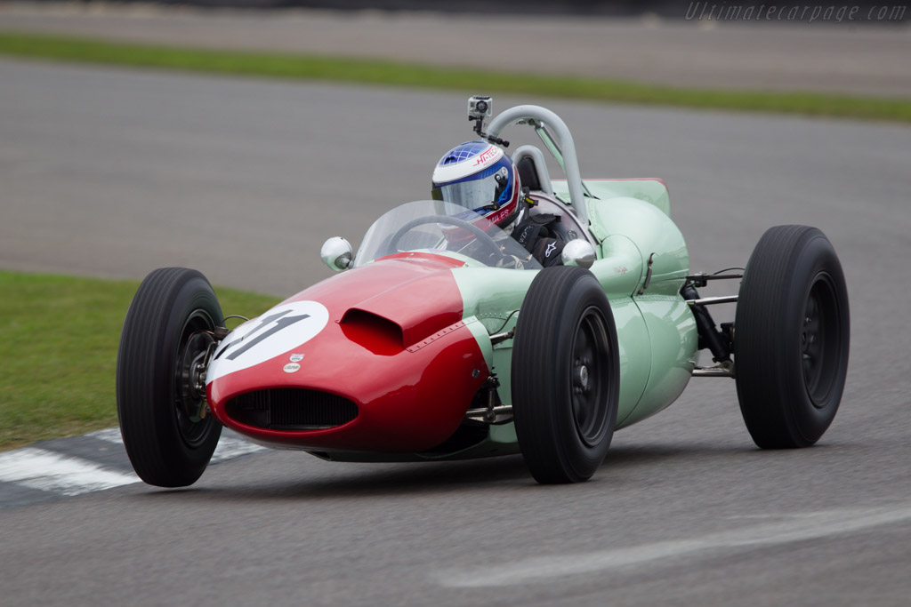 Cooper T51 Climax - Chassis: F2-1-59 - Entrant: Mick Moberley - Driver: Miles Griffiths  - 2013 Goodwood Revival
