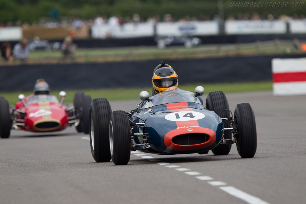 Cooper T56 Ford - Chassis: YC-F1-62 - Driver: John Evans  - 2013 Goodwood Revival