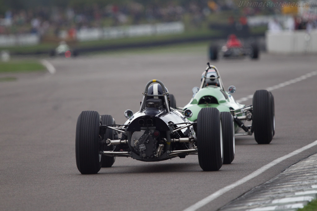 Cooper T66 Climax - Chassis: F1-2-63 - Driver: Sid Hoole  - 2013 Goodwood Revival