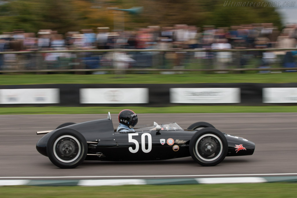 Dolphin Mk2 Ford - Chassis: 001 - Driver: David Woodhouse  - 2013 Goodwood Revival