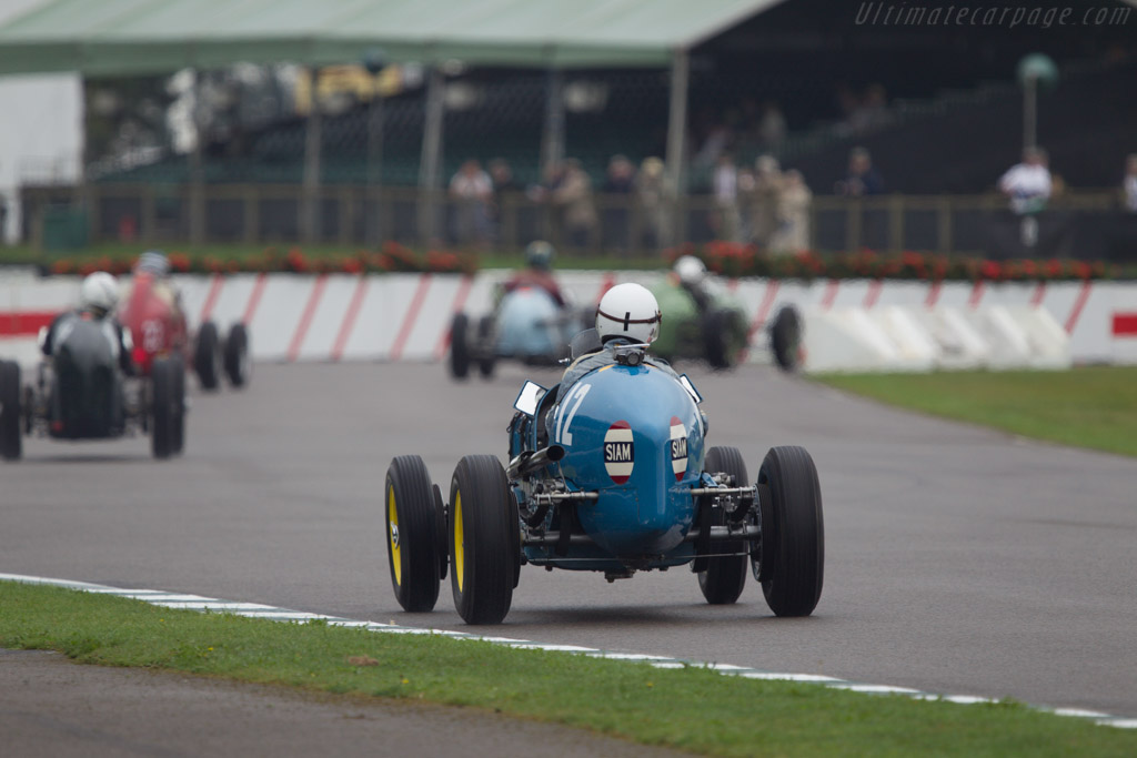 ERA R5B Remus - Chassis: R5B - Driver: Charles McCabe  - 2013 Goodwood Revival