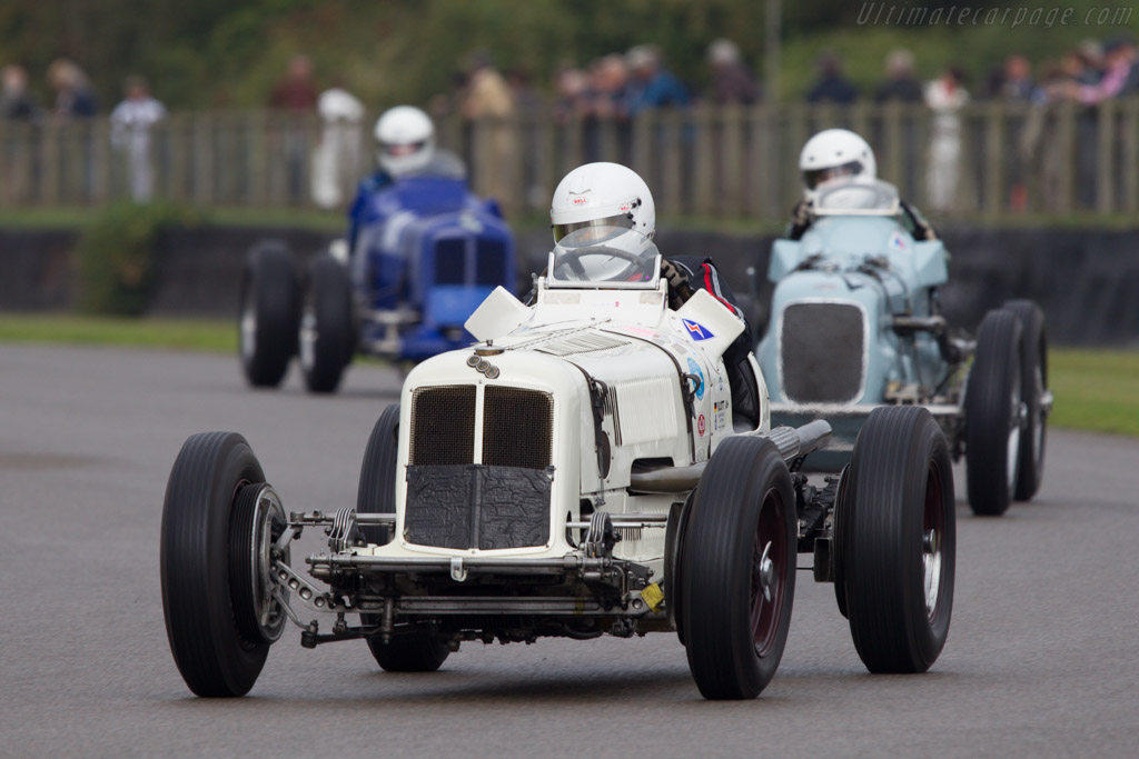ERA R9B - Chassis: R9B - Driver: Rainer Ott  - 2013 Goodwood Revival