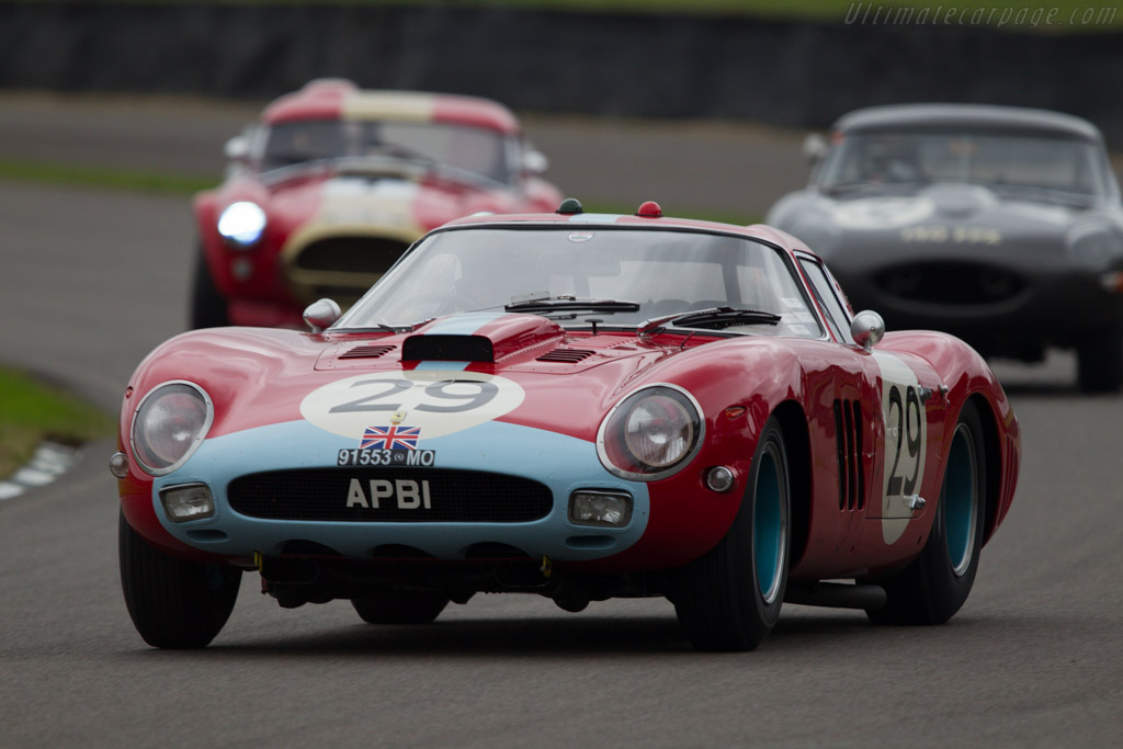 Ferrari 250 GTO Pininfarina Coupe - Chassis: 4399GT - Entrant: Anthony Bamford - Driver: Jean Alesi  - 2013 Goodwood Revival