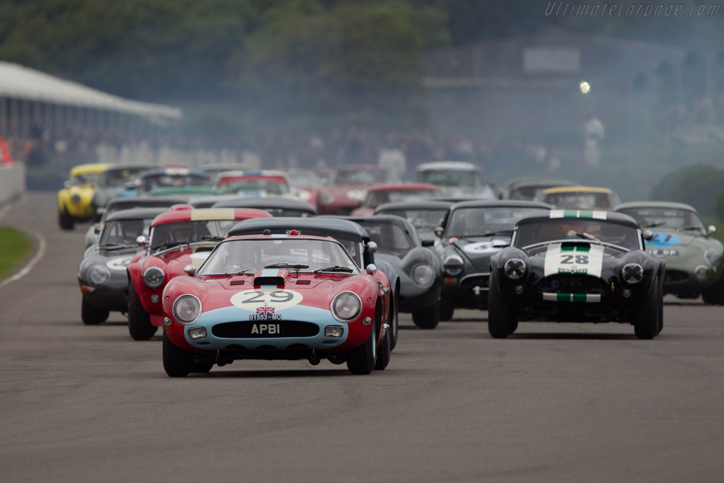 Ferrari 250 GTO Pininfarina Coupe - Chassis: 4399GT - Entrant: Anthony Bamford - Driver: Jean Alesi  - 2013 Goodwood Revival