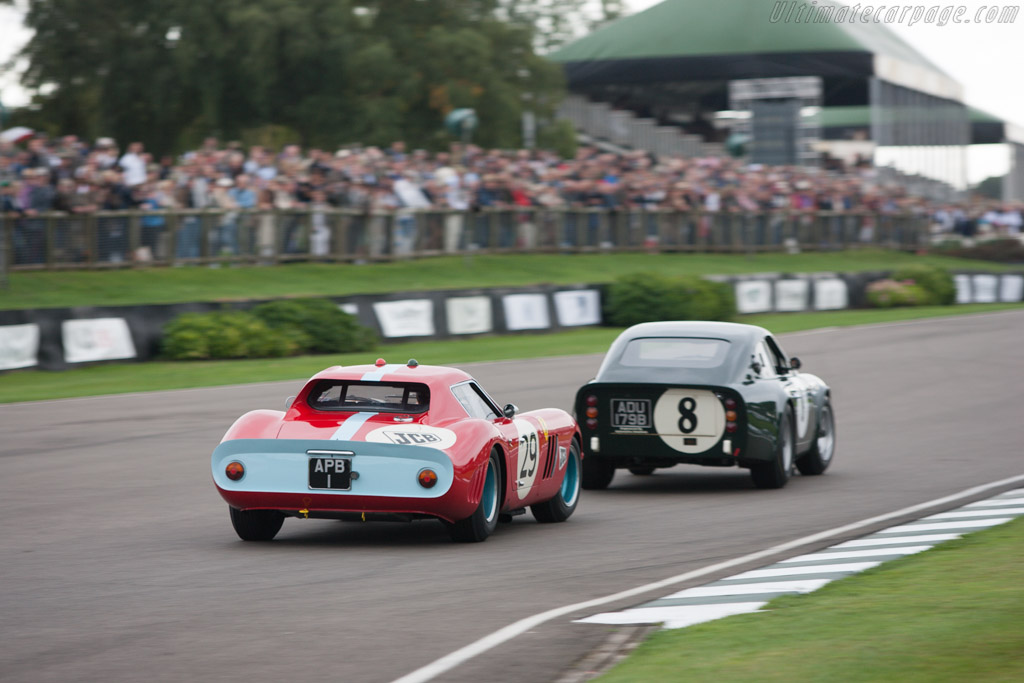 Ferrari 250 GTO Pininfarina Coupe - Chassis: 4399GT - Entrant: Anthony Bamford - Driver: Andy Newall  - 2013 Goodwood Revival
