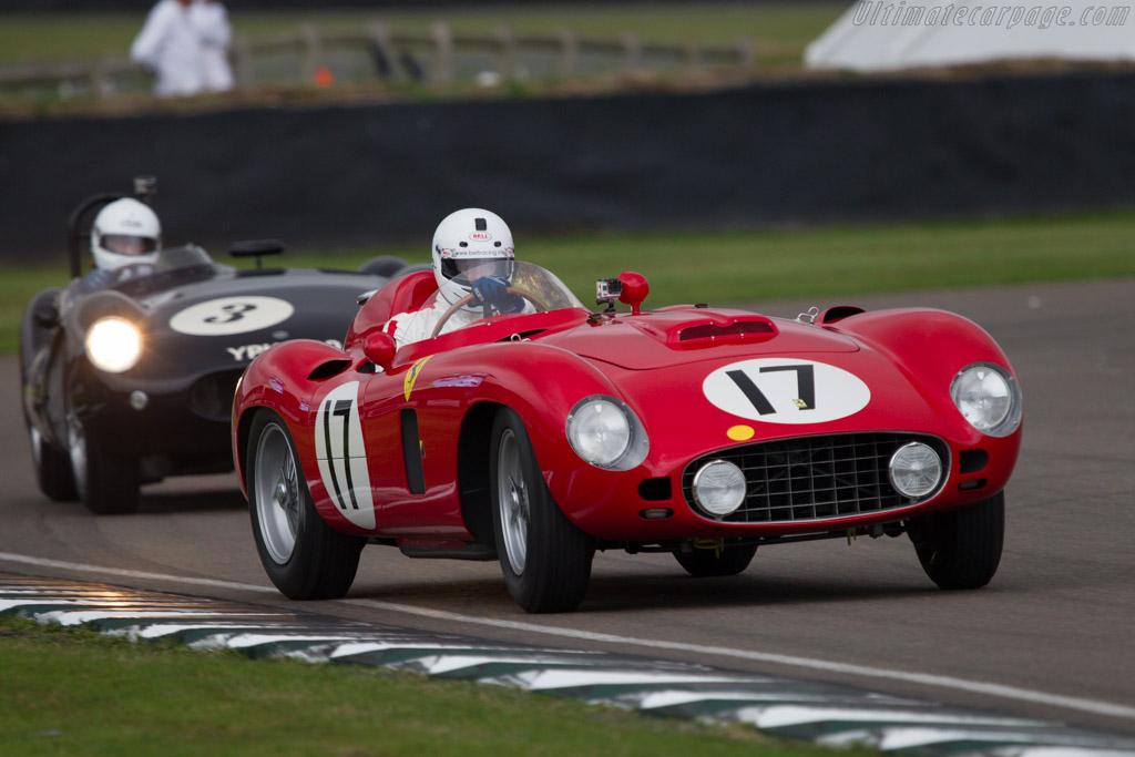 Ferrari 860 Monza - Chassis: 0604M - Entrant: Damazein Auto d'Epoca - Driver: Max Girardo  - 2013 Goodwood Revival